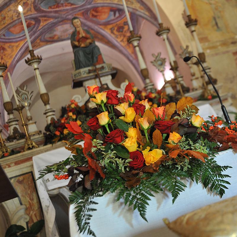 allestimento floreale chiesa modena