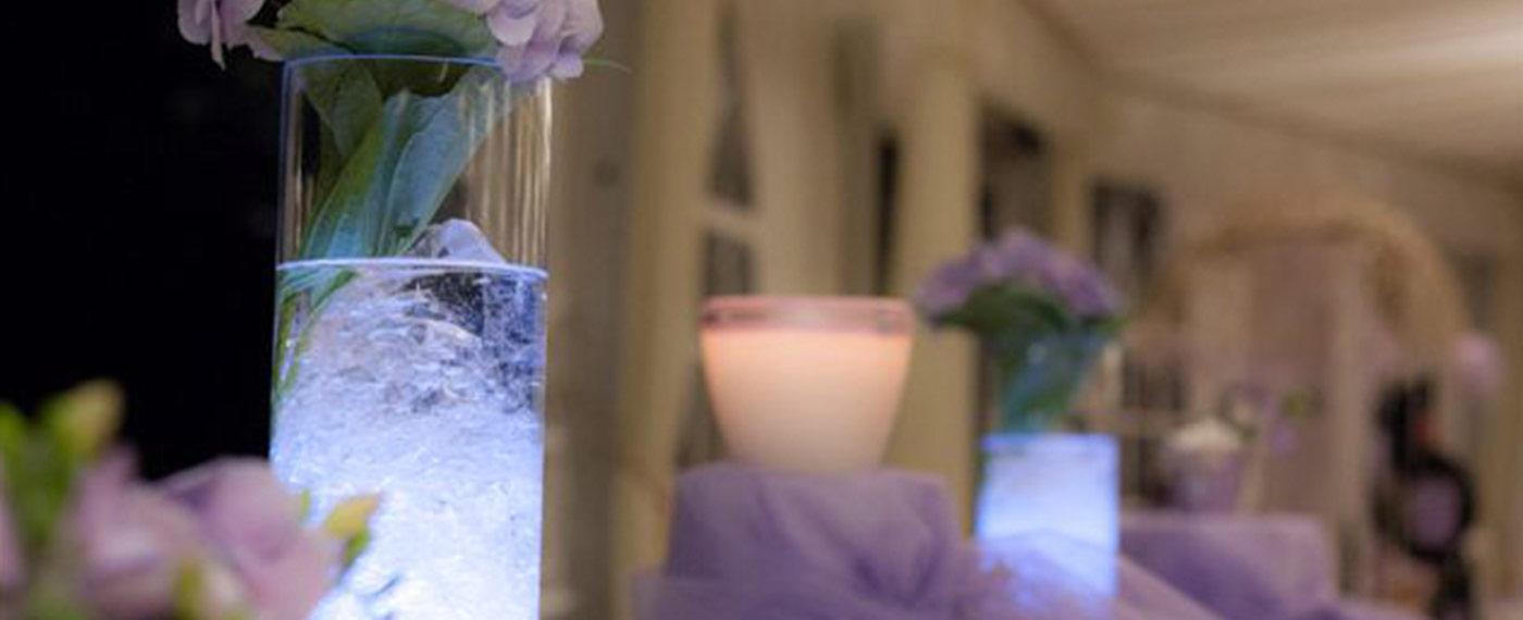 allestimento floreale hotel matrimonio