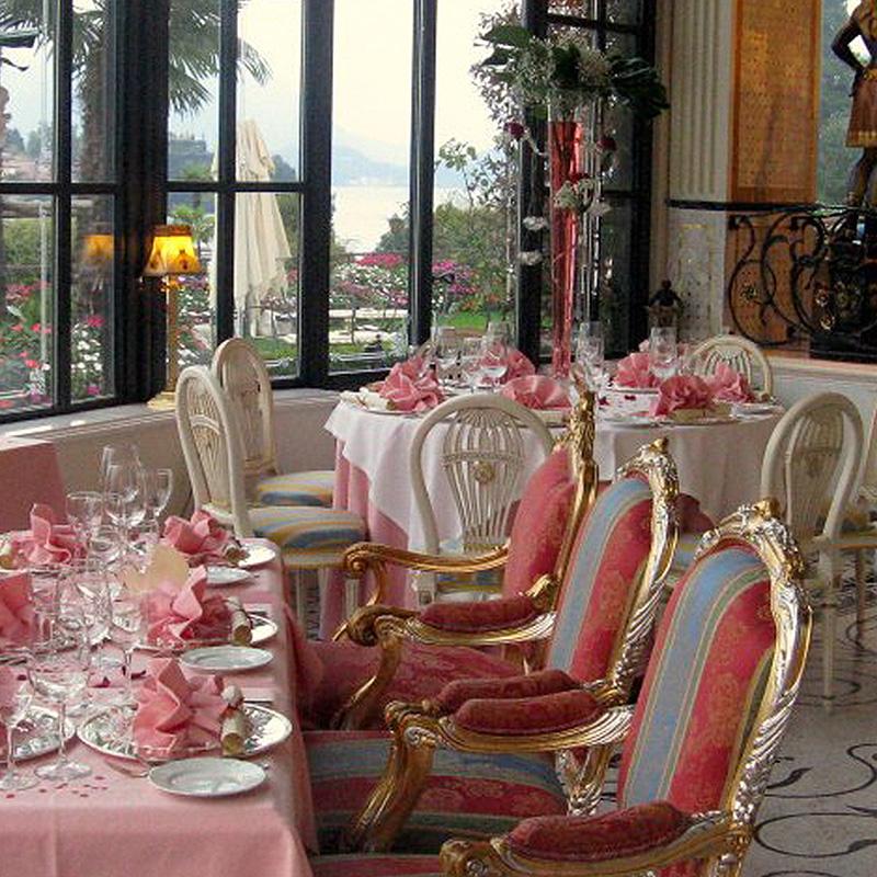 allestimento floreale villa