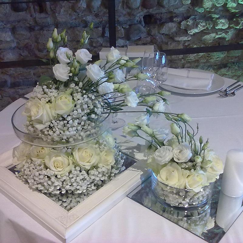 decorazioni fiori ristorante