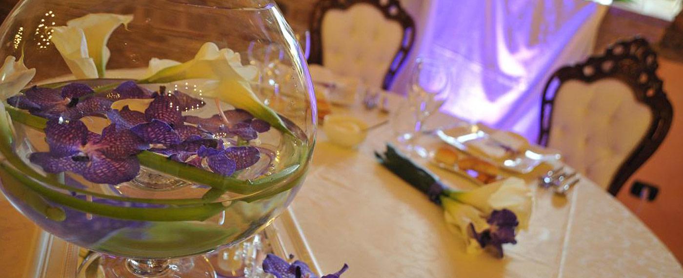 fiori decorazione ville eventi