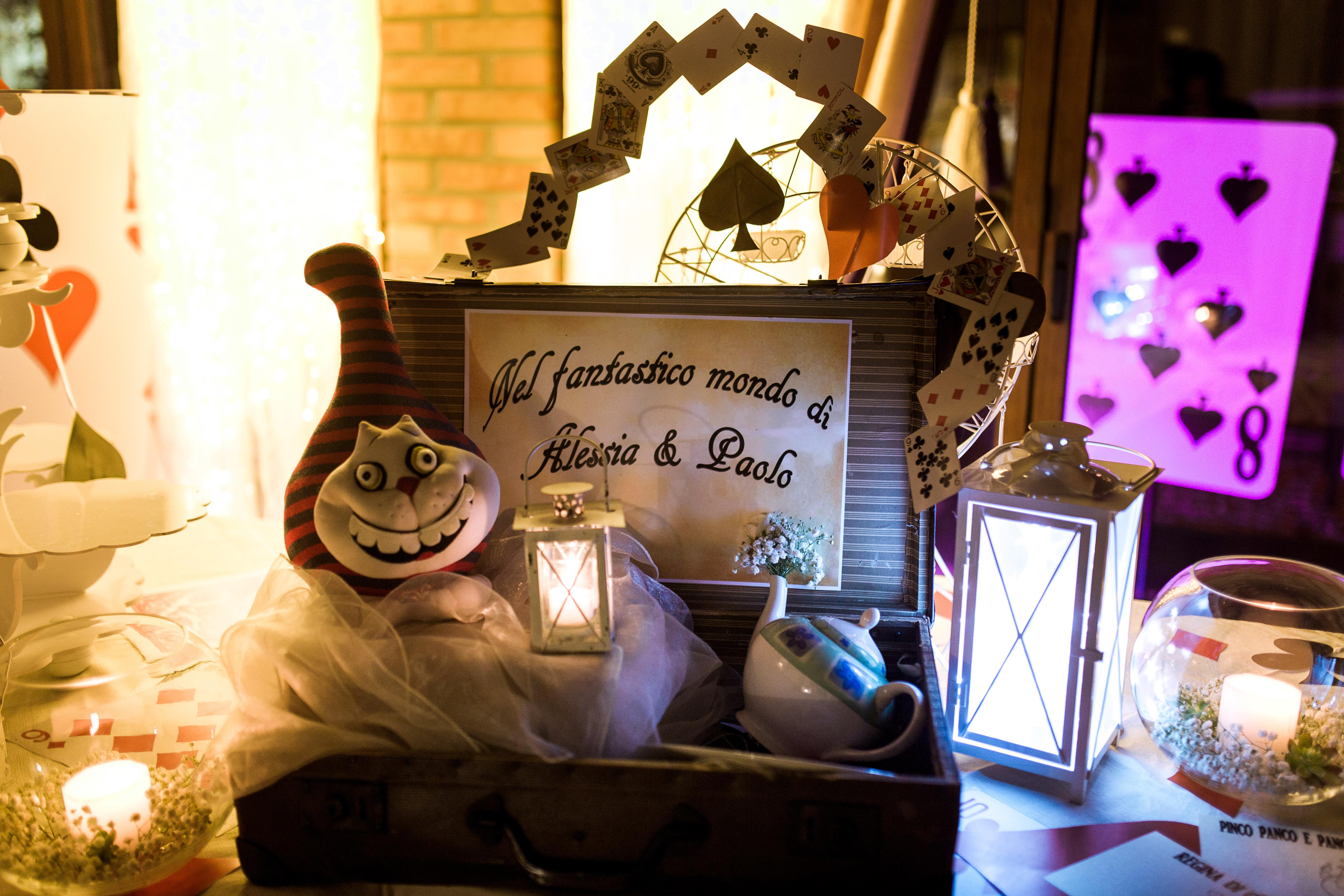 Matrimonio Tema Alice Nel Paese Delle Meraviglie : Matrimonio pieno di meraviglie