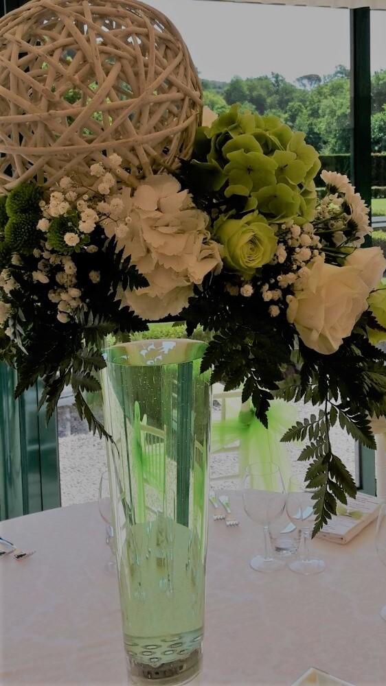 Matrimonio In Bianco : Matrimonio: bianco e verde per le decorazioni fiorista matrimonio